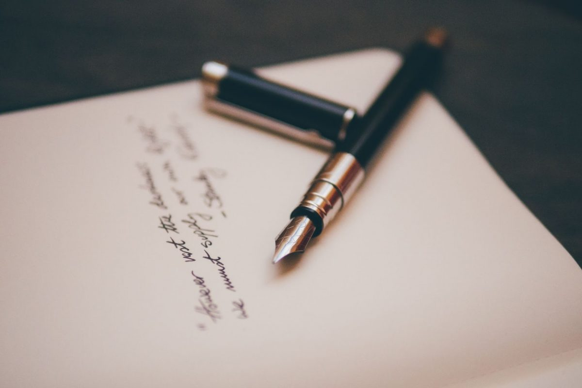 Writing on a will